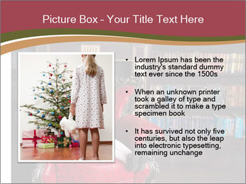 Girl Reading In Red Armchair PowerPoint Templates - Slide 13