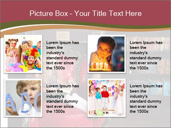 Girl Reading In Red Armchair PowerPoint Templates - Slide 14
