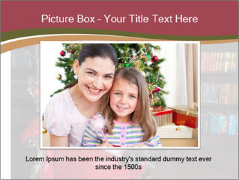 Girl Reading In Red Armchair PowerPoint Templates - Slide 16