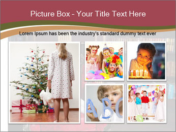 Girl Reading In Red Armchair PowerPoint Templates - Slide 19