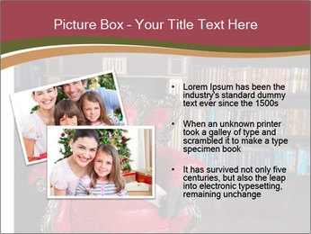 Girl Reading In Red Armchair PowerPoint Templates - Slide 20