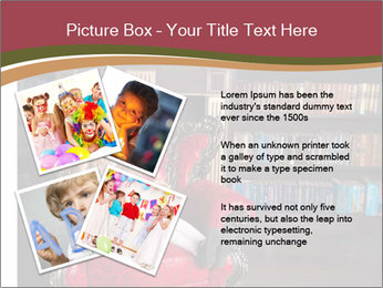 Girl Reading In Red Armchair PowerPoint Templates - Slide 23