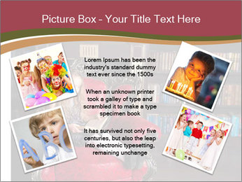 Girl Reading In Red Armchair PowerPoint Templates - Slide 24