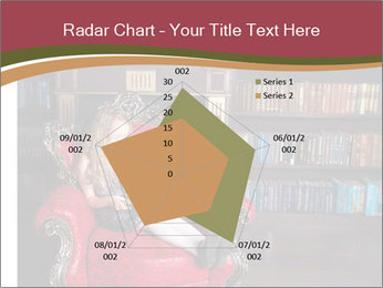 Girl Reading In Red Armchair PowerPoint Templates - Slide 51