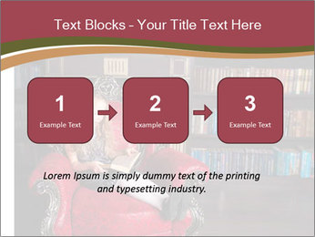 Girl Reading In Red Armchair PowerPoint Templates - Slide 71