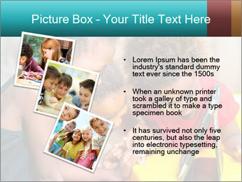 Afro American Kids PowerPoint Template - Slide 17