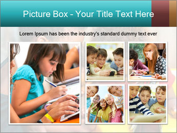 Afro American Kids PowerPoint Template - Slide 19