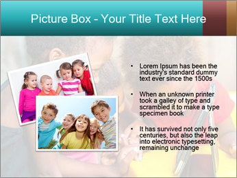 Afro American Kids PowerPoint Template - Slide 20