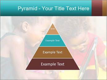 Afro American Kids PowerPoint Template - Slide 30