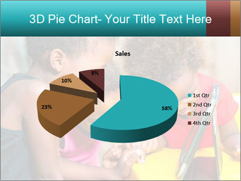 Afro American Kids PowerPoint Templates - Slide 35