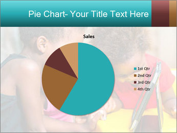 Afro American Kids PowerPoint Template - Slide 36