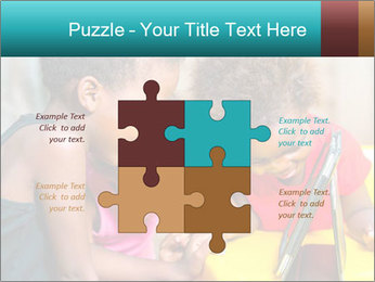 Afro American Kids PowerPoint Templates - Slide 43