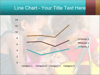 Afro American Kids PowerPoint Template - Slide 54
