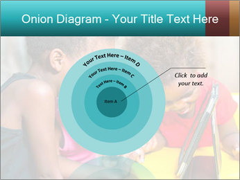 Afro American Kids PowerPoint Template - Slide 61