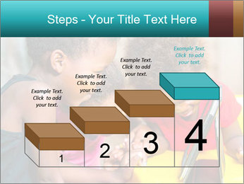 Afro American Kids PowerPoint Template - Slide 64