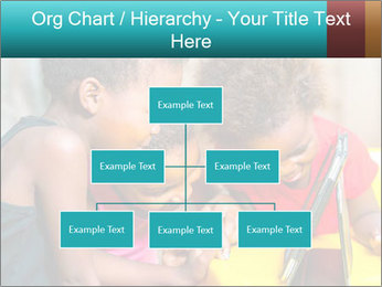 Afro American Kids PowerPoint Templates - Slide 66