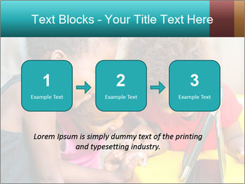 Afro American Kids PowerPoint Template - Slide 71