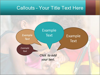 Afro American Kids PowerPoint Templates - Slide 73