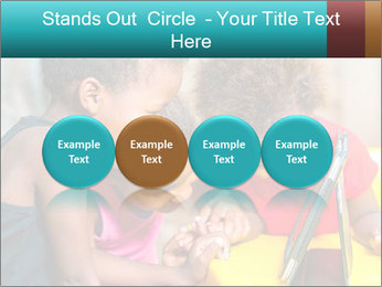 Afro American Kids PowerPoint Templates - Slide 76