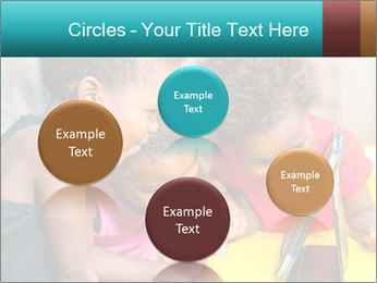 Afro American Kids PowerPoint Templates - Slide 77