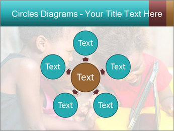 Afro American Kids PowerPoint Template - Slide 78