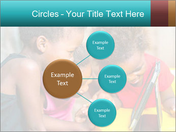 Afro American Kids PowerPoint Templates - Slide 79