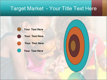 Afro American Kids PowerPoint Template - Slide 84