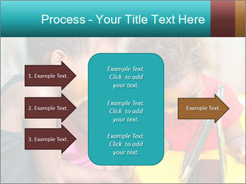 Afro American Kids PowerPoint Templates - Slide 85