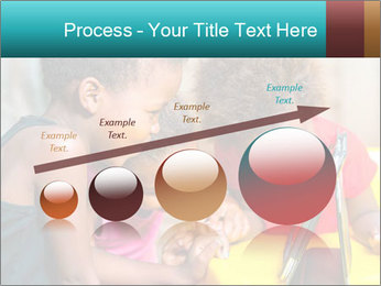 Afro American Kids PowerPoint Templates - Slide 87