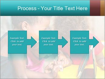 Afro American Kids PowerPoint Templates - Slide 88