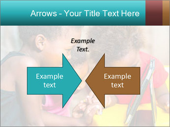 Afro American Kids PowerPoint Template - Slide 90