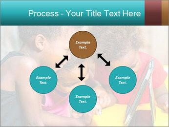 Afro American Kids PowerPoint Template - Slide 91