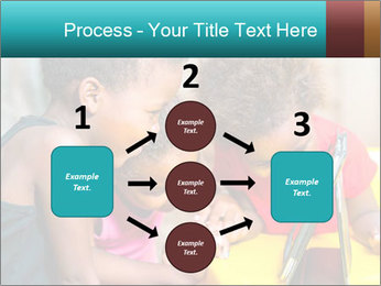 Afro American Kids PowerPoint Templates - Slide 92