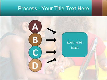 Afro American Kids PowerPoint Template - Slide 94