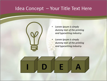 White Lily PowerPoint Template - Slide 80