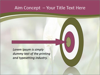 White Lily PowerPoint Template - Slide 83