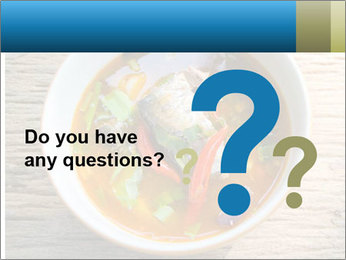 Thai Soup PowerPoint Template - Slide 96