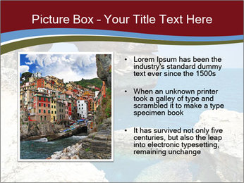 Sea And Rocks PowerPoint Template - Slide 13