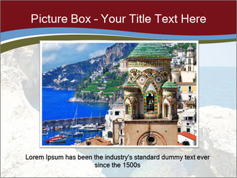 Sea And Rocks PowerPoint Template - Slide 15