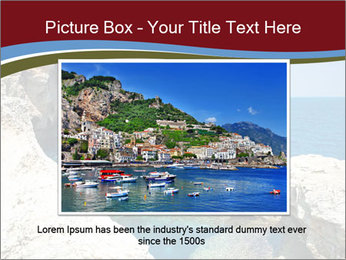 Sea And Rocks PowerPoint Template - Slide 16