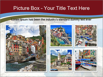 Sea And Rocks PowerPoint Template - Slide 19