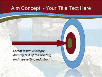 Sea And Rocks PowerPoint Template - Slide 83