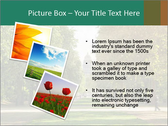 Park During Autumn Season PowerPoint Templates - Slide 17