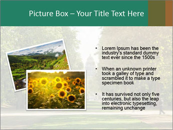Park During Autumn Season PowerPoint Template - Slide 20