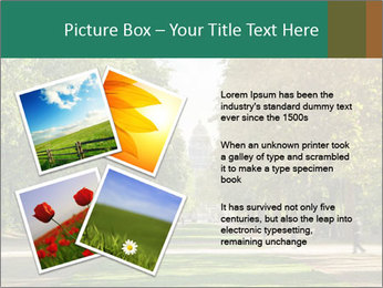 Park During Autumn Season PowerPoint Template - Slide 23