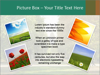 Park During Autumn Season PowerPoint Template - Slide 24