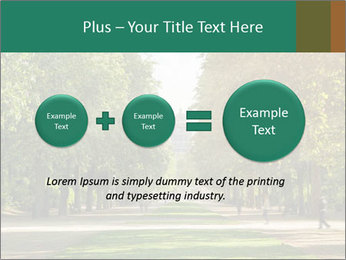 Park During Autumn Season PowerPoint Template - Slide 75