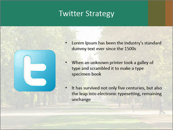 Park During Autumn Season PowerPoint Templates - Slide 9