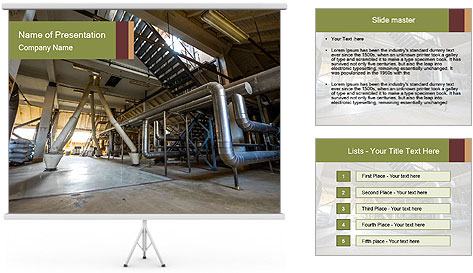 Huge Attic PowerPoint Template