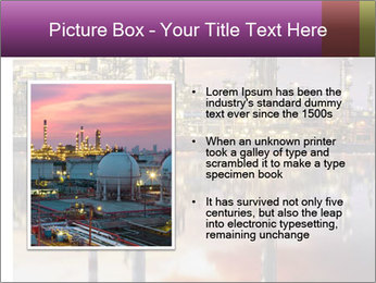 Factory At Night PowerPoint Template - Slide 13